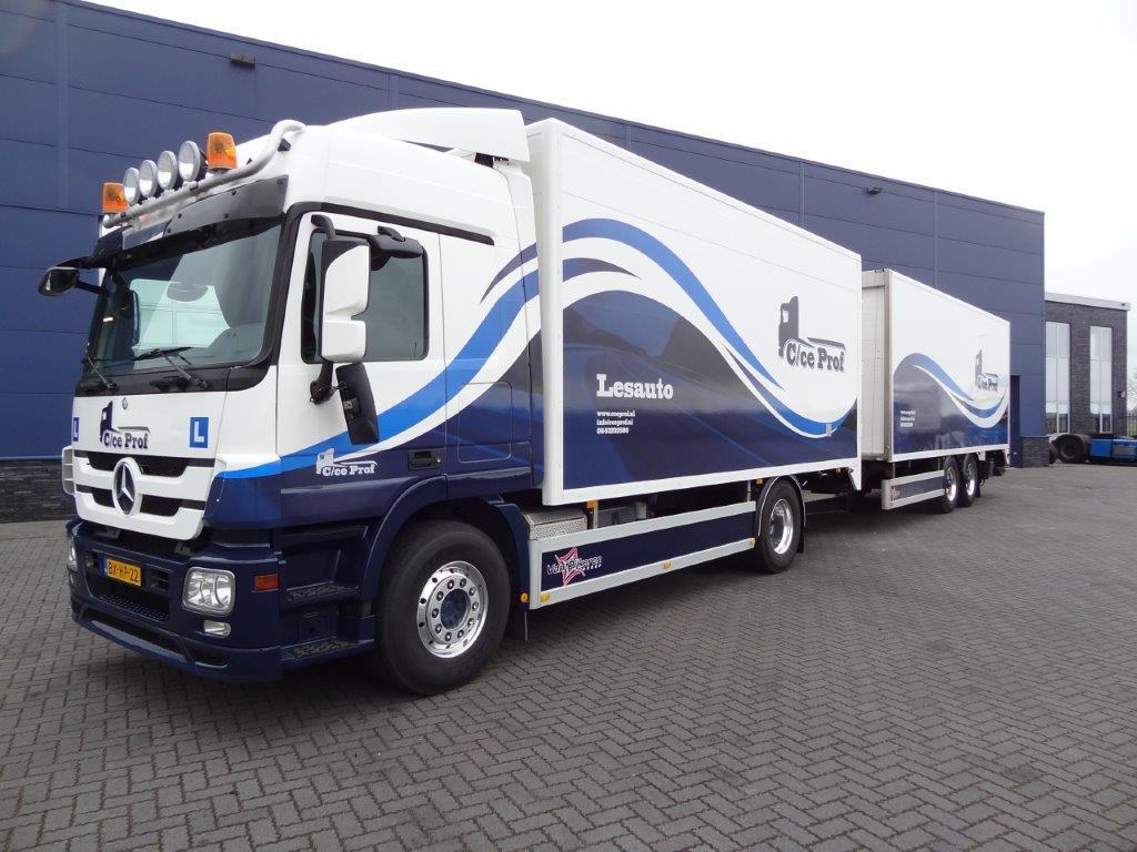 CCeprof vrachtwagen rijbewijs halen