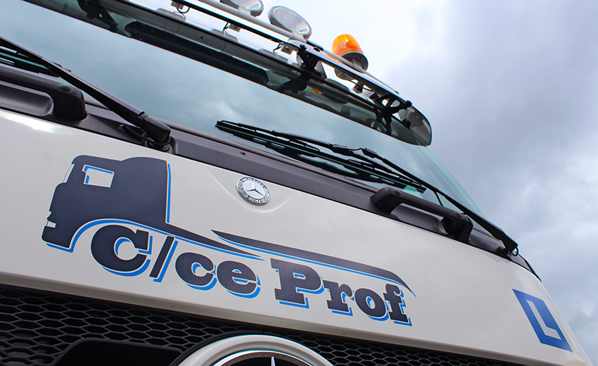 Vrachtwagen rijbewijs CE rijbewijs C