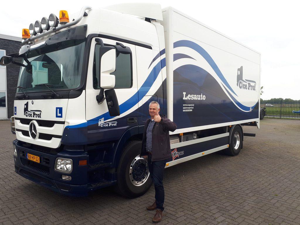 Vrachtwagen rijbewijs C Mark Logchies