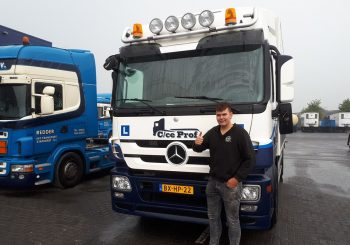 C rijbewijs door voor CE rijbewijs vrachtwagen
