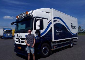 vrachtwagen rijbewijs
